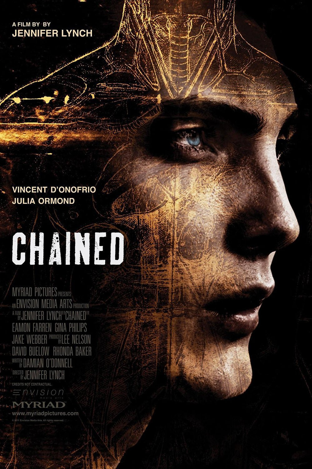 affiche du film Chained