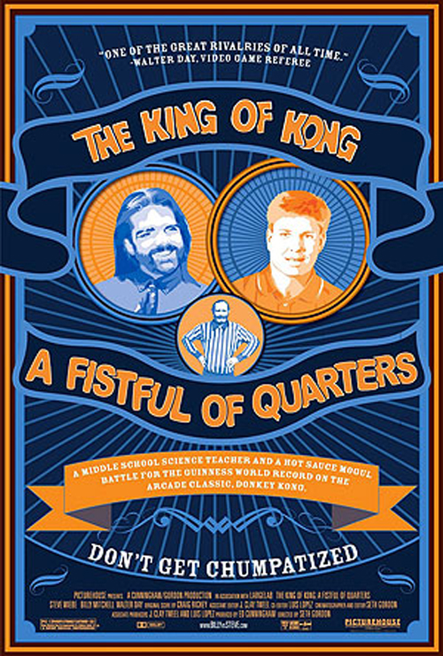 affiche du film The King of Kong: a fistful of quarters