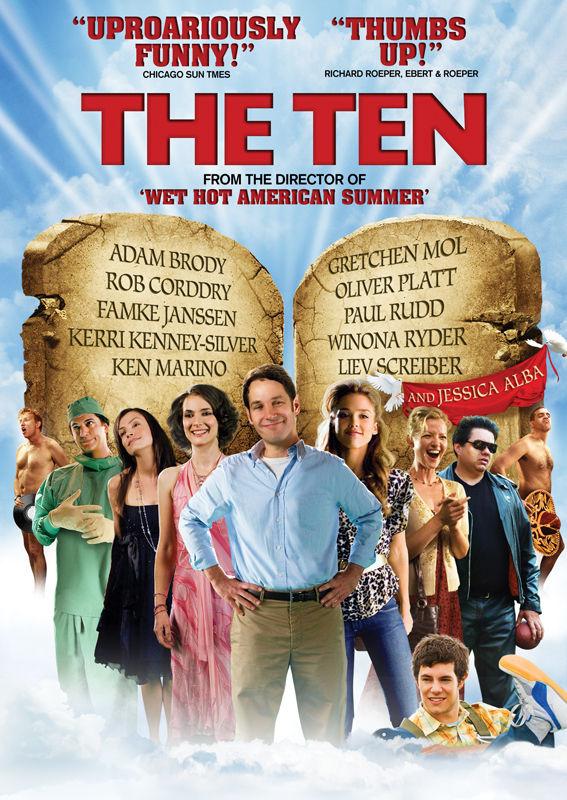 affiche du film The Ten