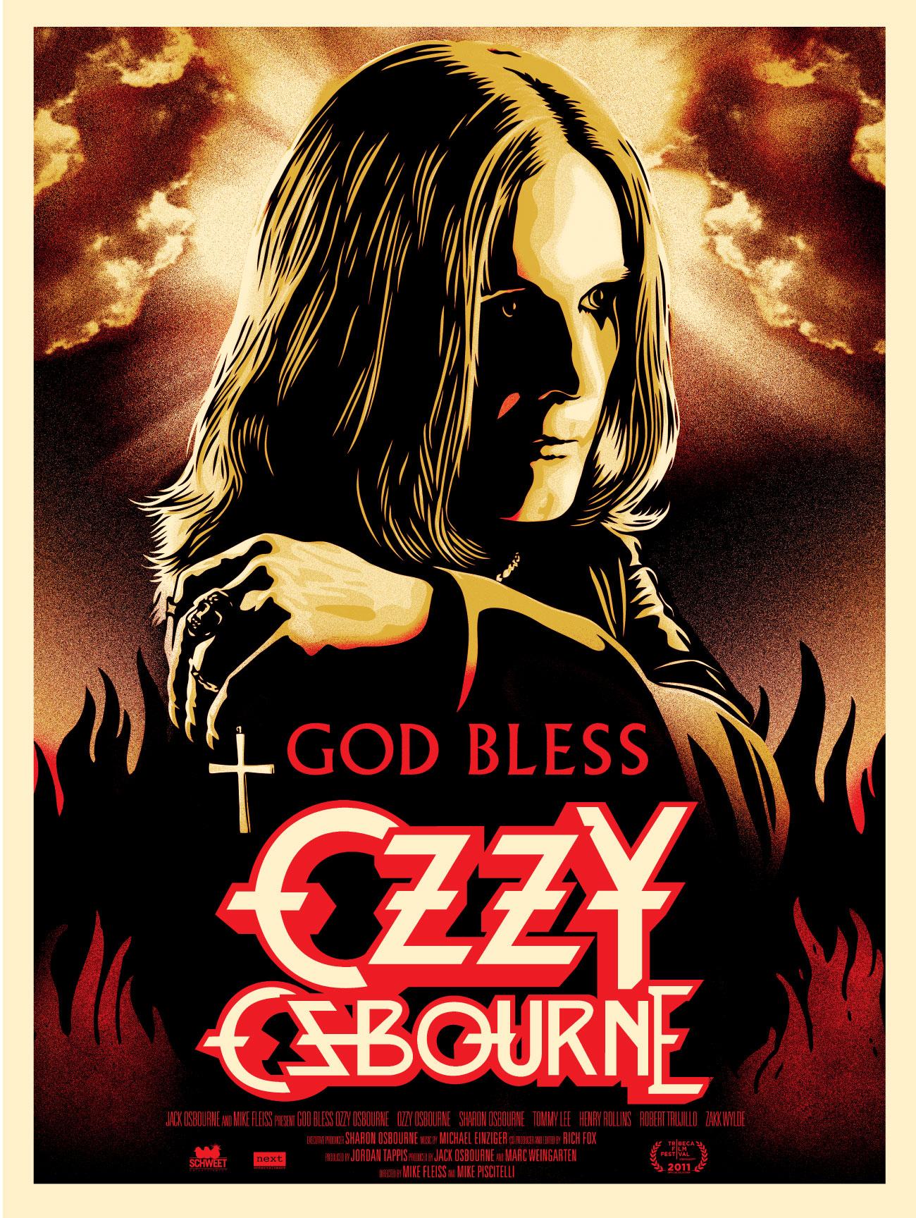 affiche du film God Bless Ozzy Osbourne