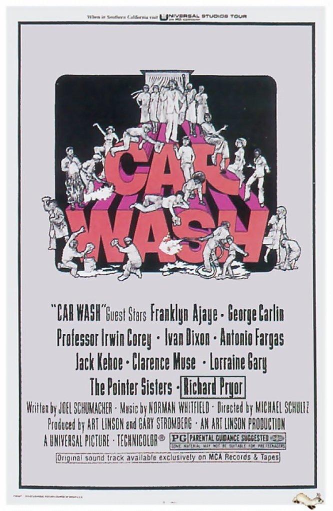 affiche du film Car Wash