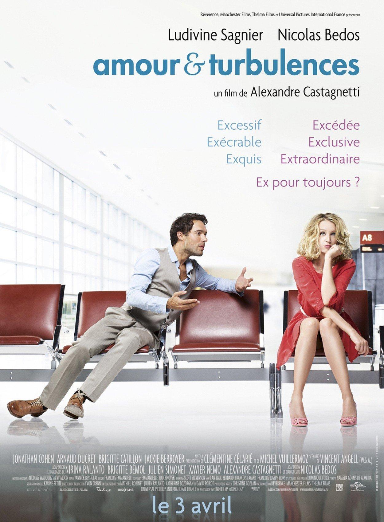 affiche du film Amour & Turbulences