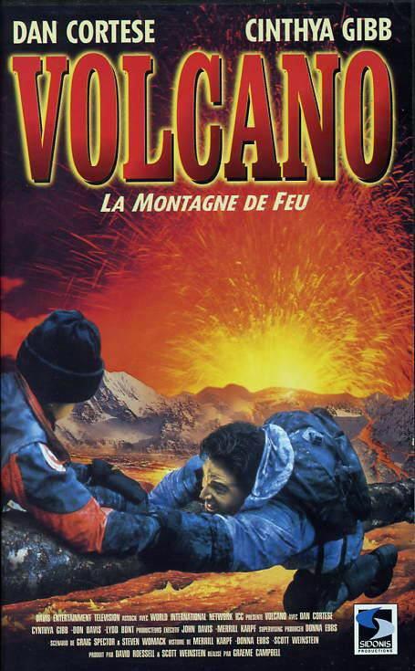 affiche du film Volcano: La montagne de feu (TV)