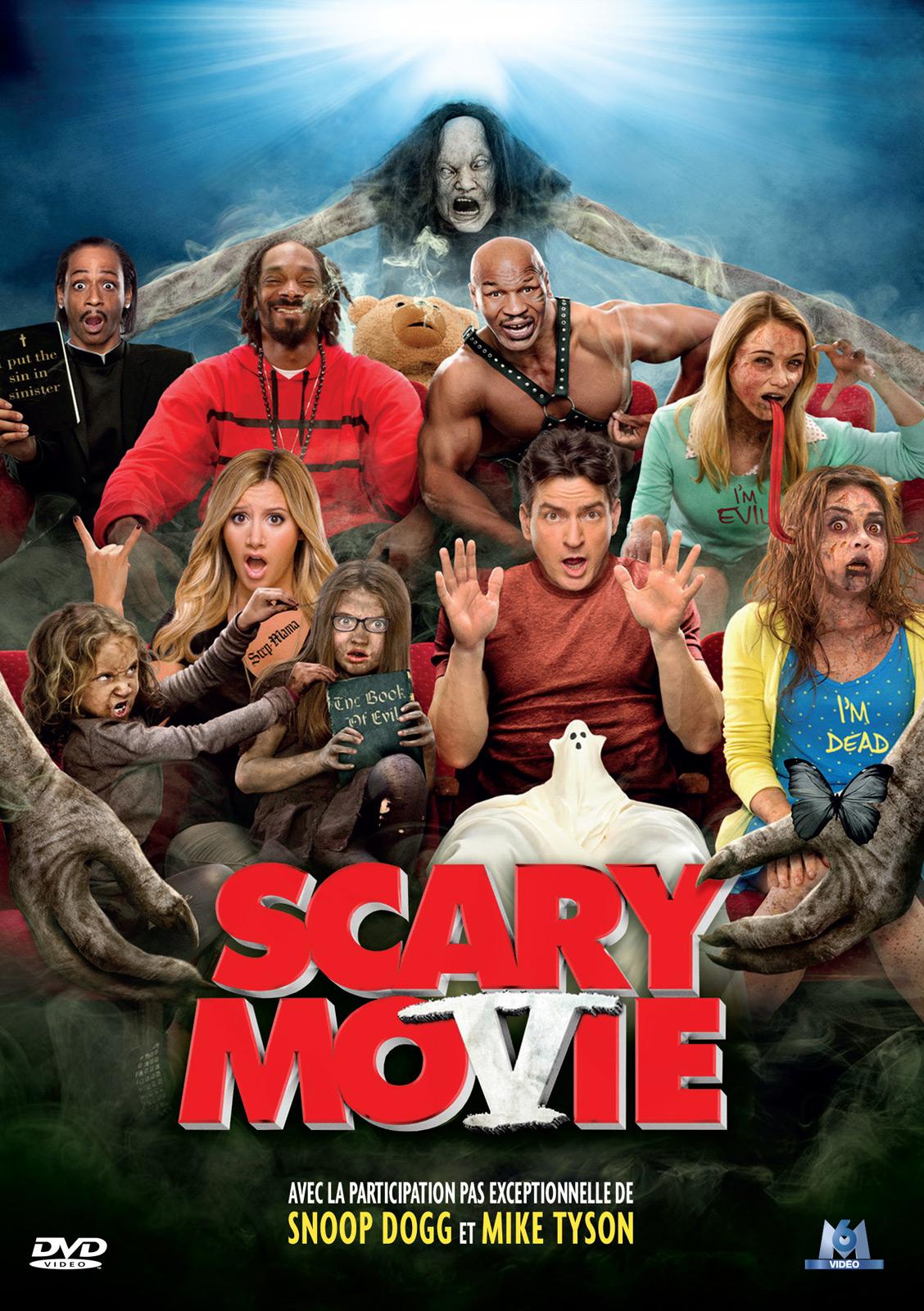 affiche du film Scary Movie 5