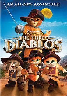 affiche du film Le Chat Potté : Les trois diablos