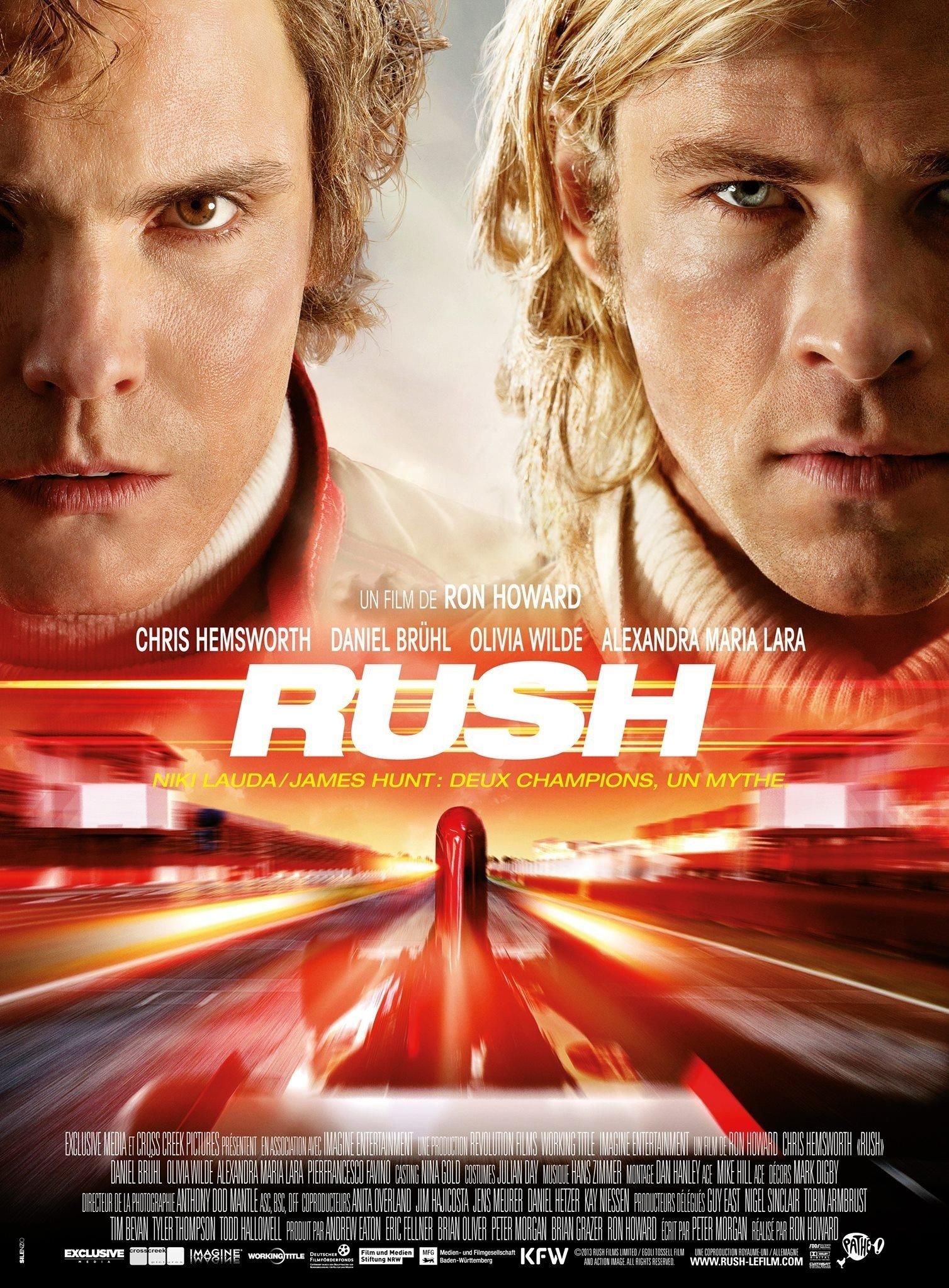 affiche du film Rush (2013)