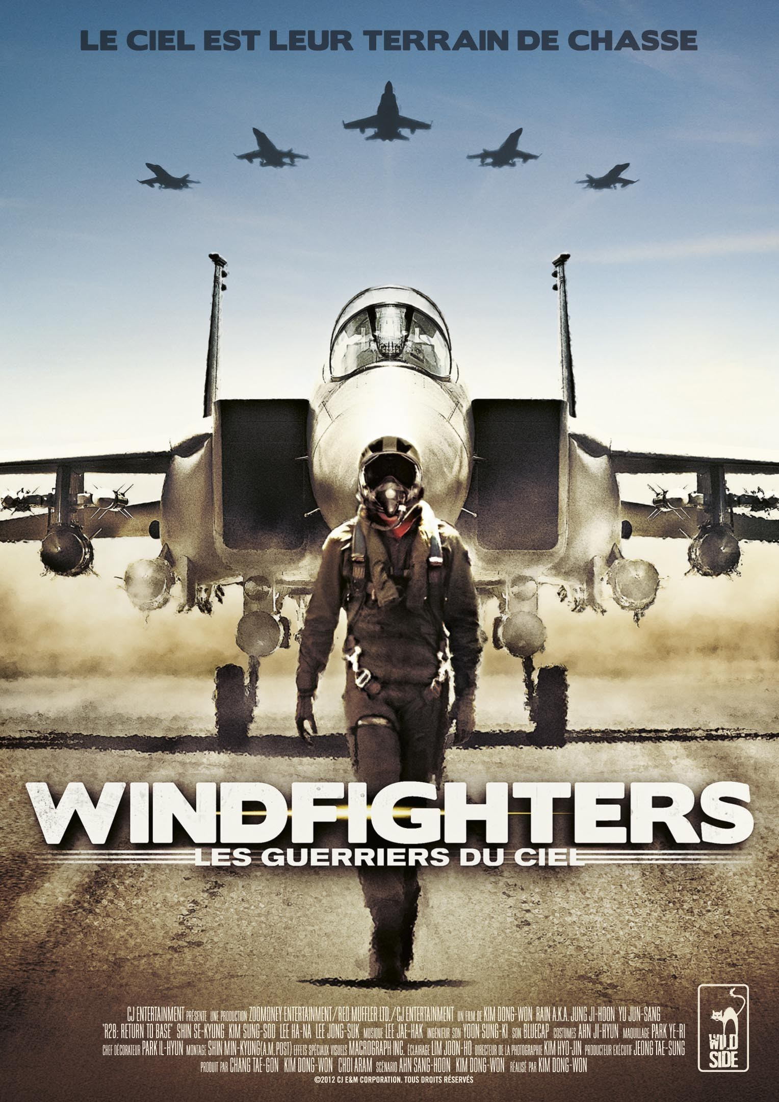 affiche du film Windfighters: Les guerriers du ciel