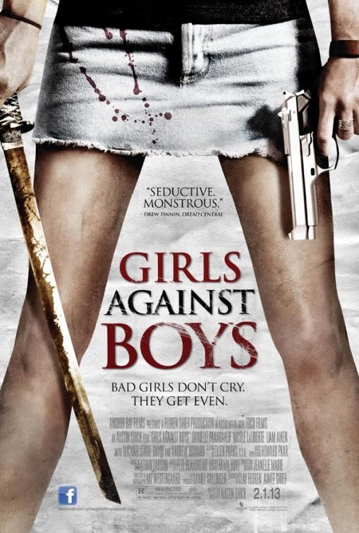 affiche du film Girls Against Boys