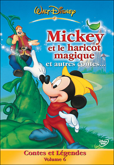 affiche du film Mickey et le haricot magique