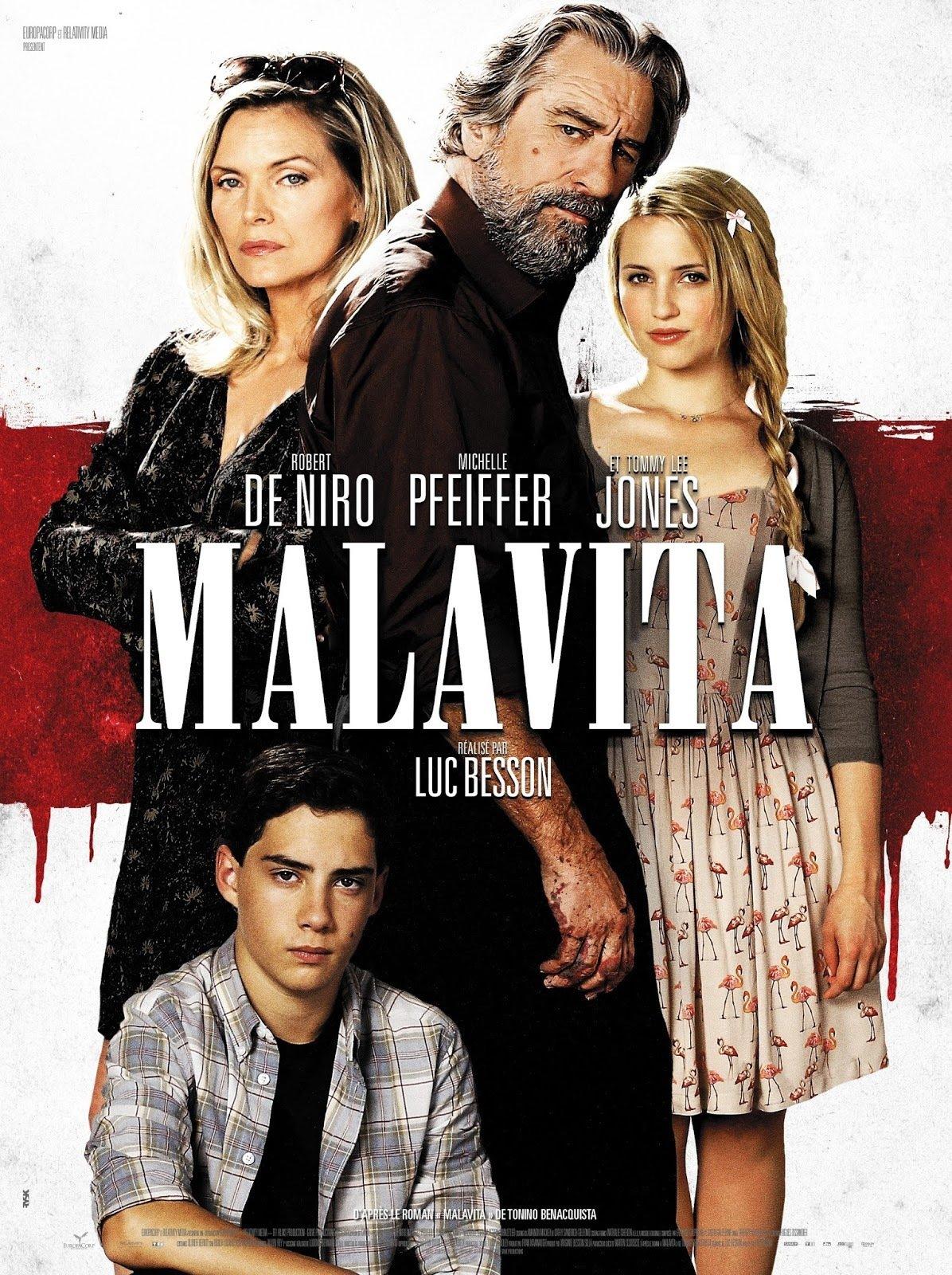 affiche du film Malavita