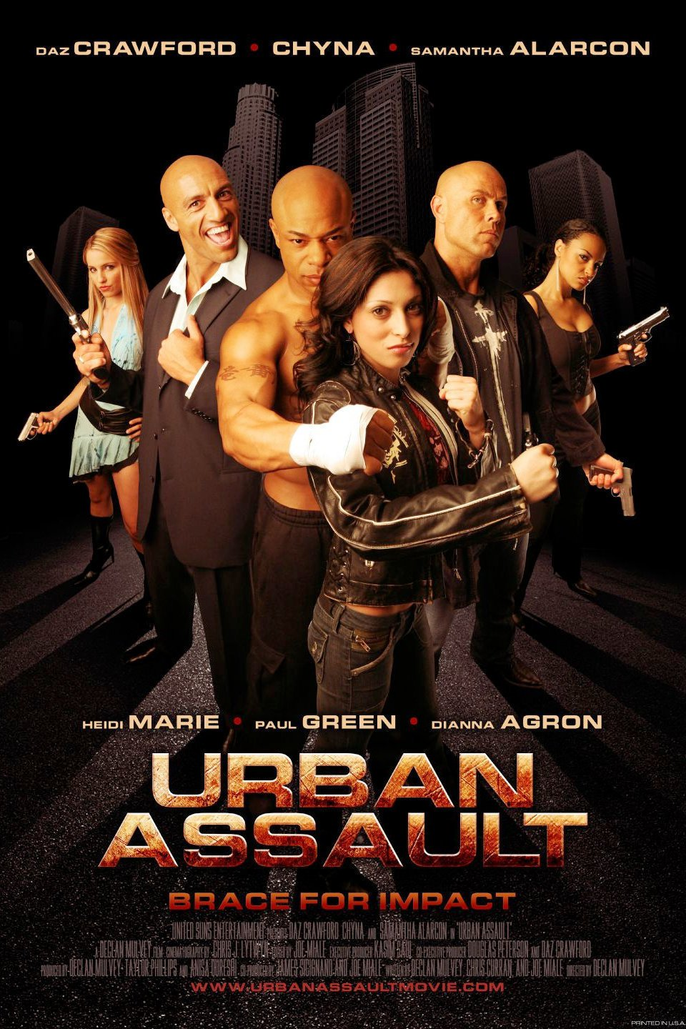 affiche du film Urban Assault