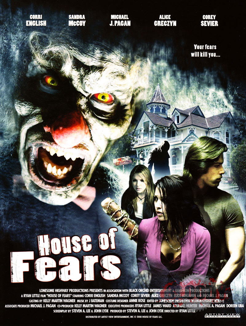 affiche du film House of Fears