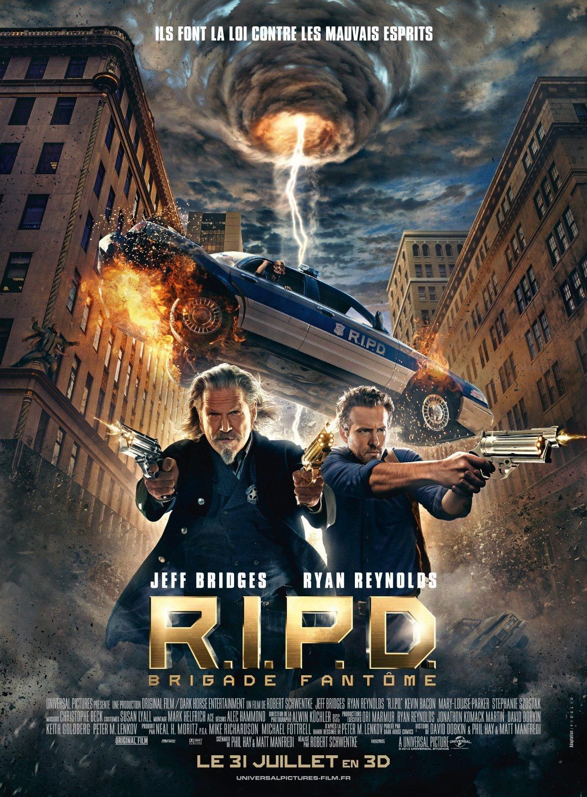 affiche du film R.I.P.D. Brigade fantôme