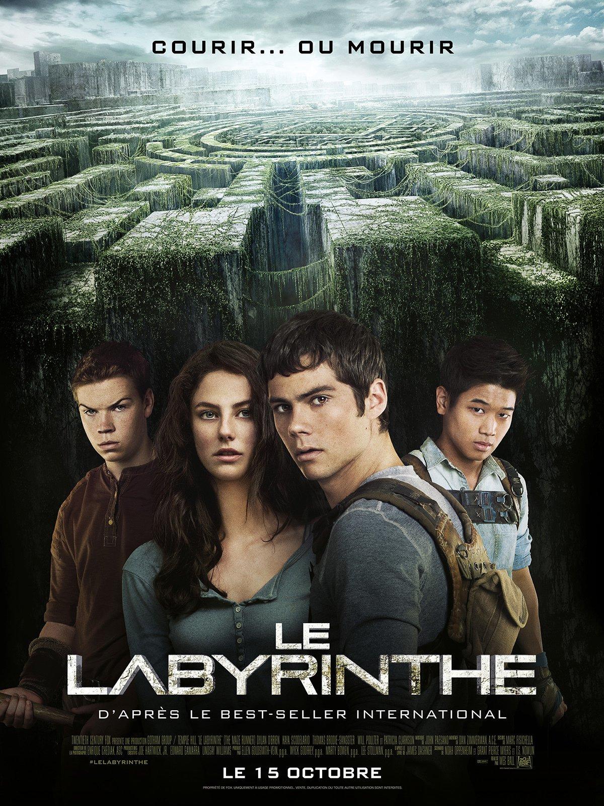 affiche du film Le Labyrinthe