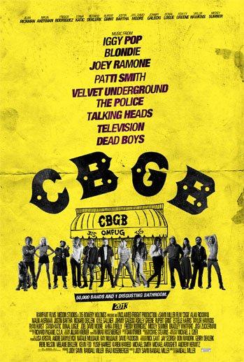 affiche du film CBGB
