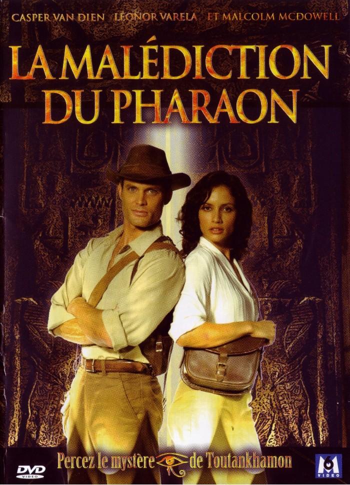 affiche du film La malédiction du pharaon (TV)