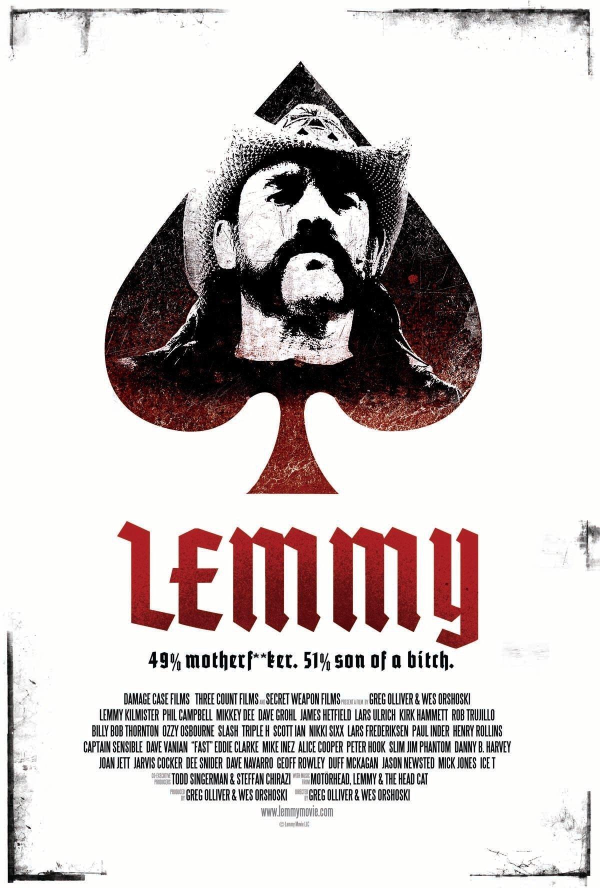 affiche du film Lemmy