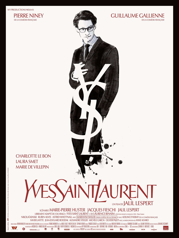 affiche du film Yves Saint Laurent