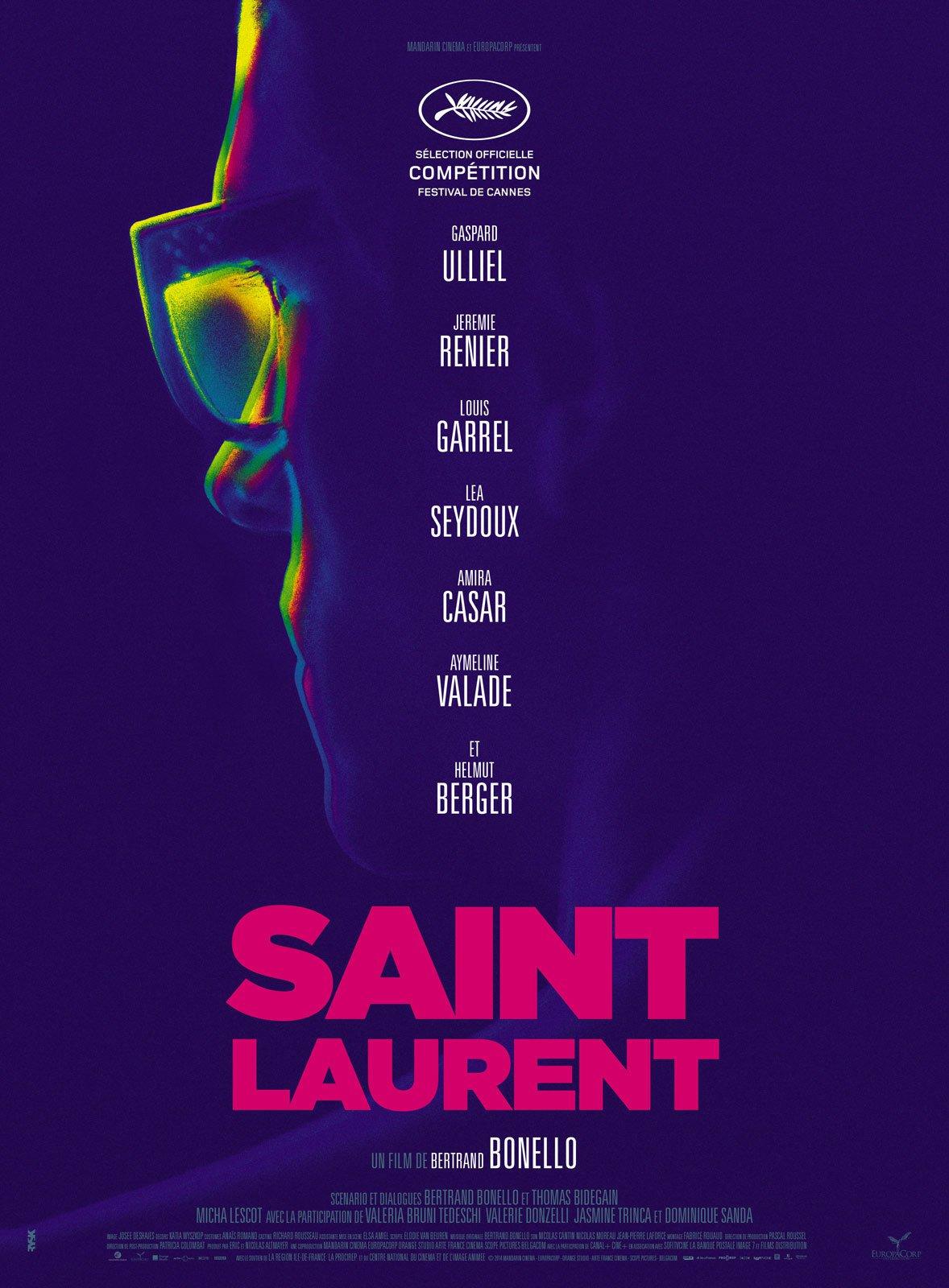 affiche du film Saint Laurent