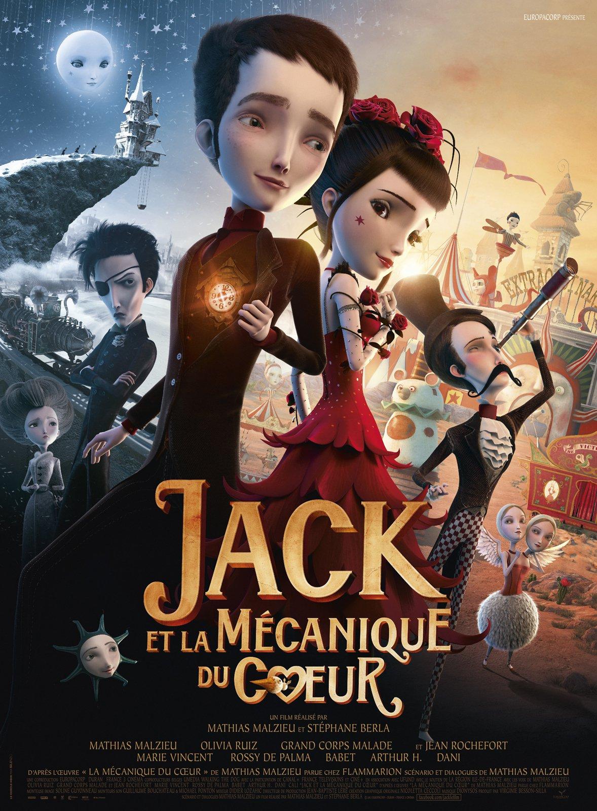 affiche du film Jack et la mécanique du cœur
