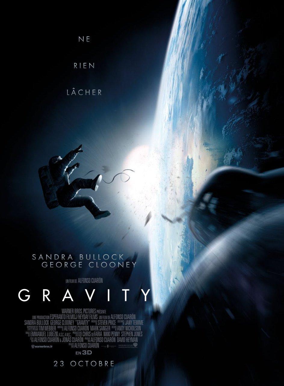 affiche du film Gravity