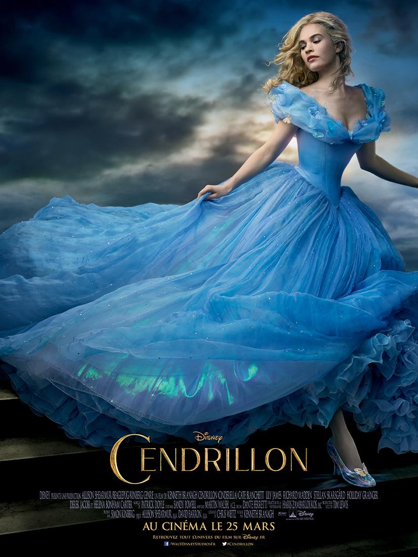 affiche du film Cendrillon (2015)