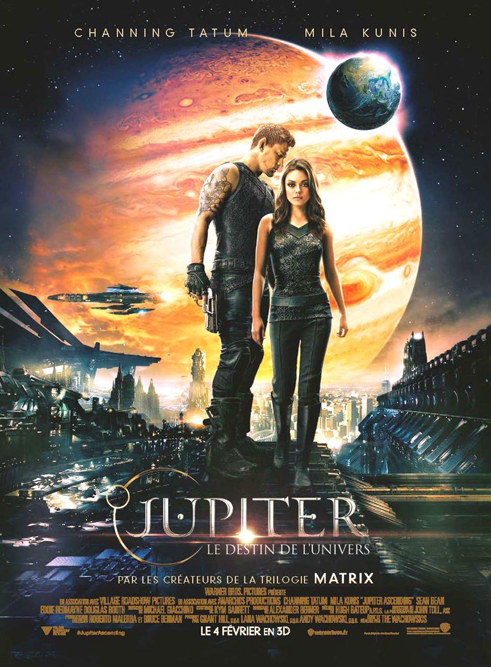 affiche du film Jupiter : Le destin de l'Univers