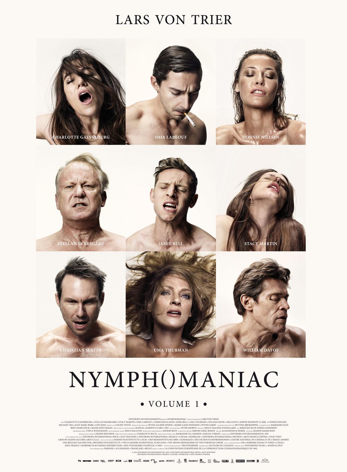 affiche du film Nymphomaniac : Volume 1