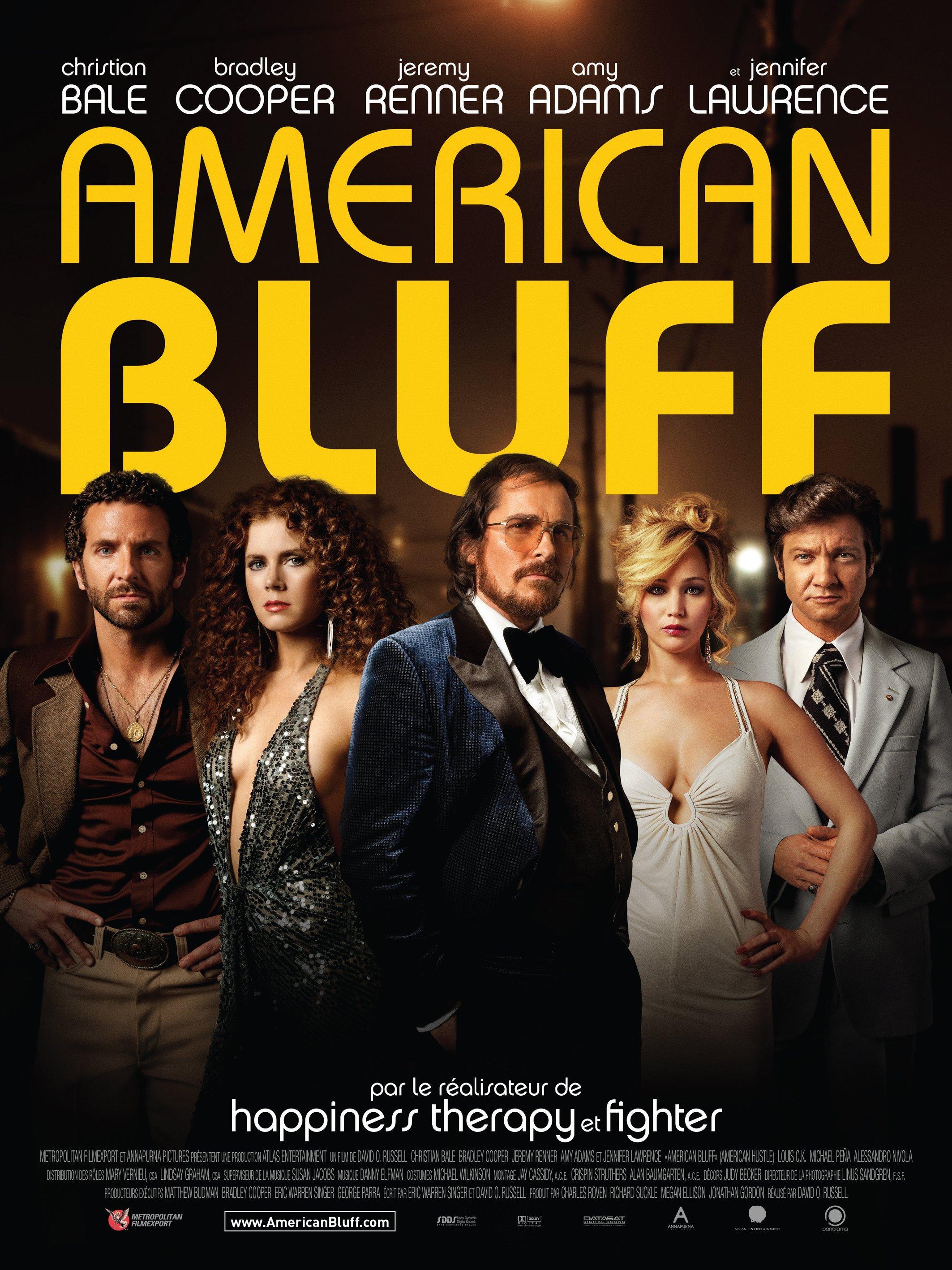 affiche du film American Bluff