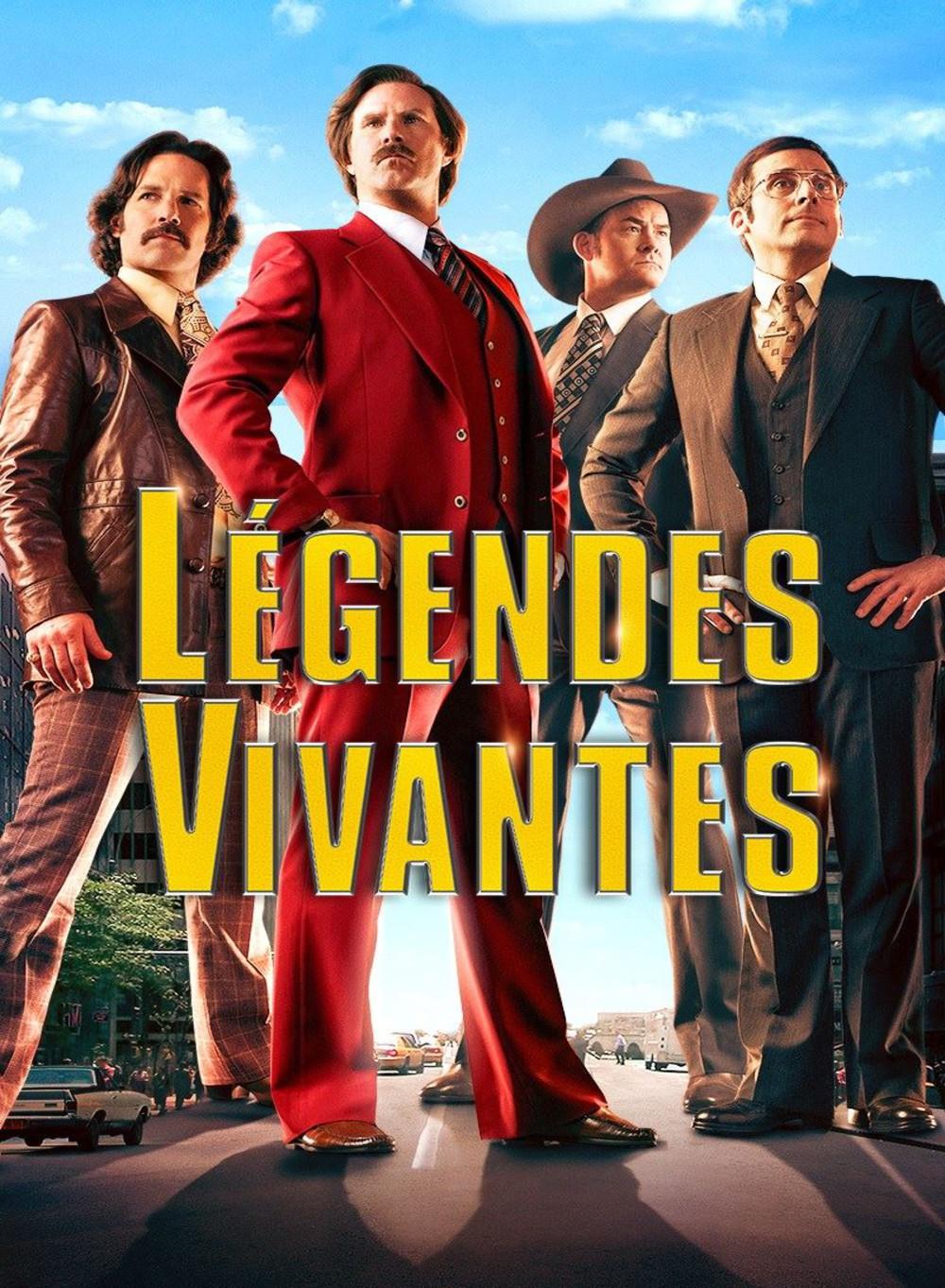 affiche du film Légendes vivantes