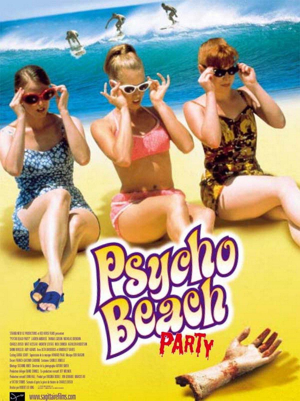 affiche du film Psycho Beach Party