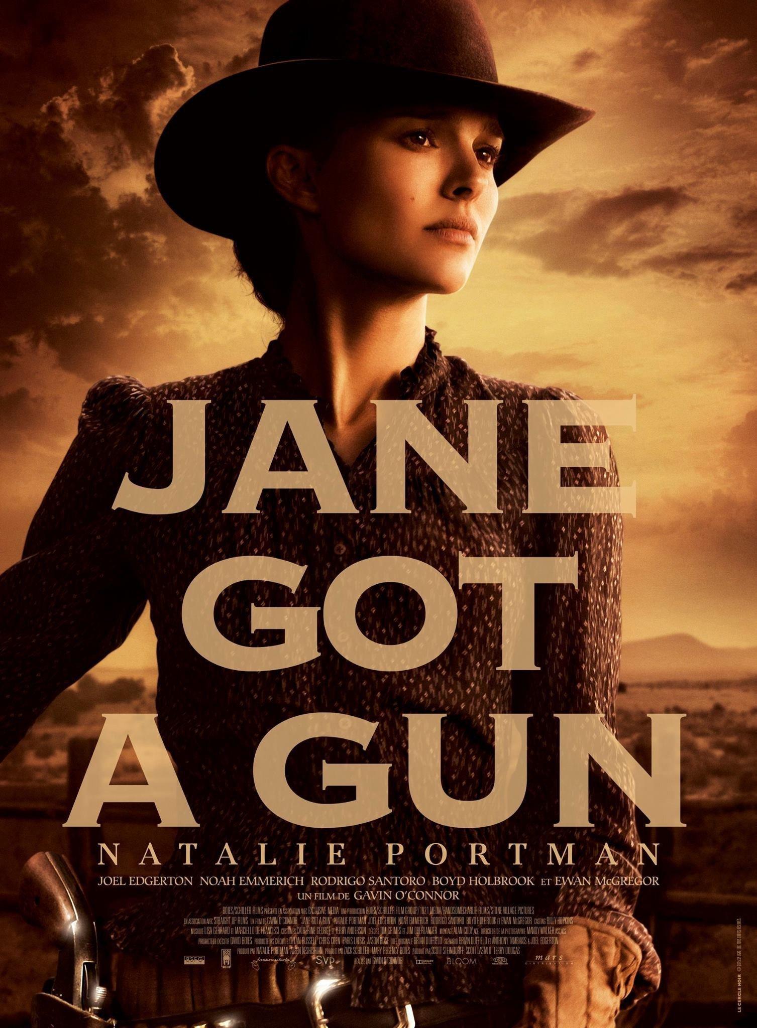 affiche du film Jane Got a Gun