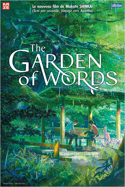 affiche du film The Garden of Words