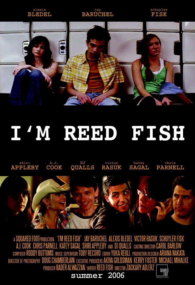 affiche du film I'm Reed Fish