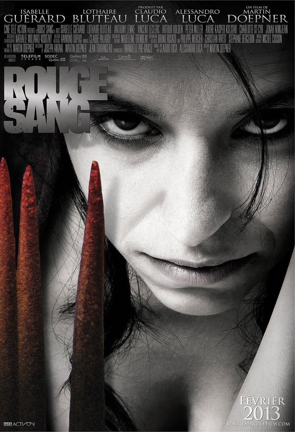 affiche du film Rouge Sang