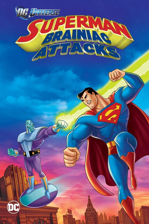 affiche du film Superman contre Brainiac (2006)