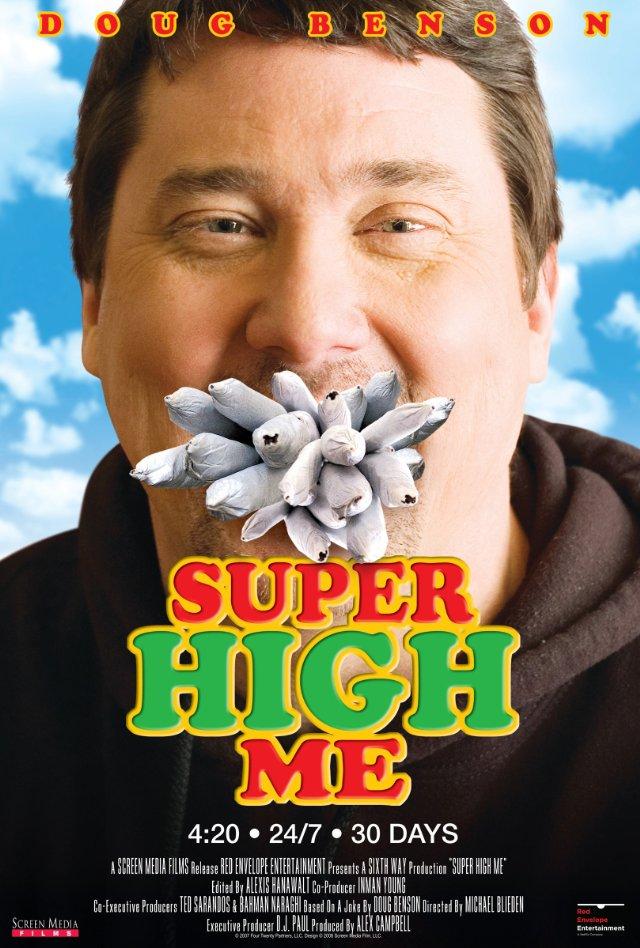 affiche du film Super High Me