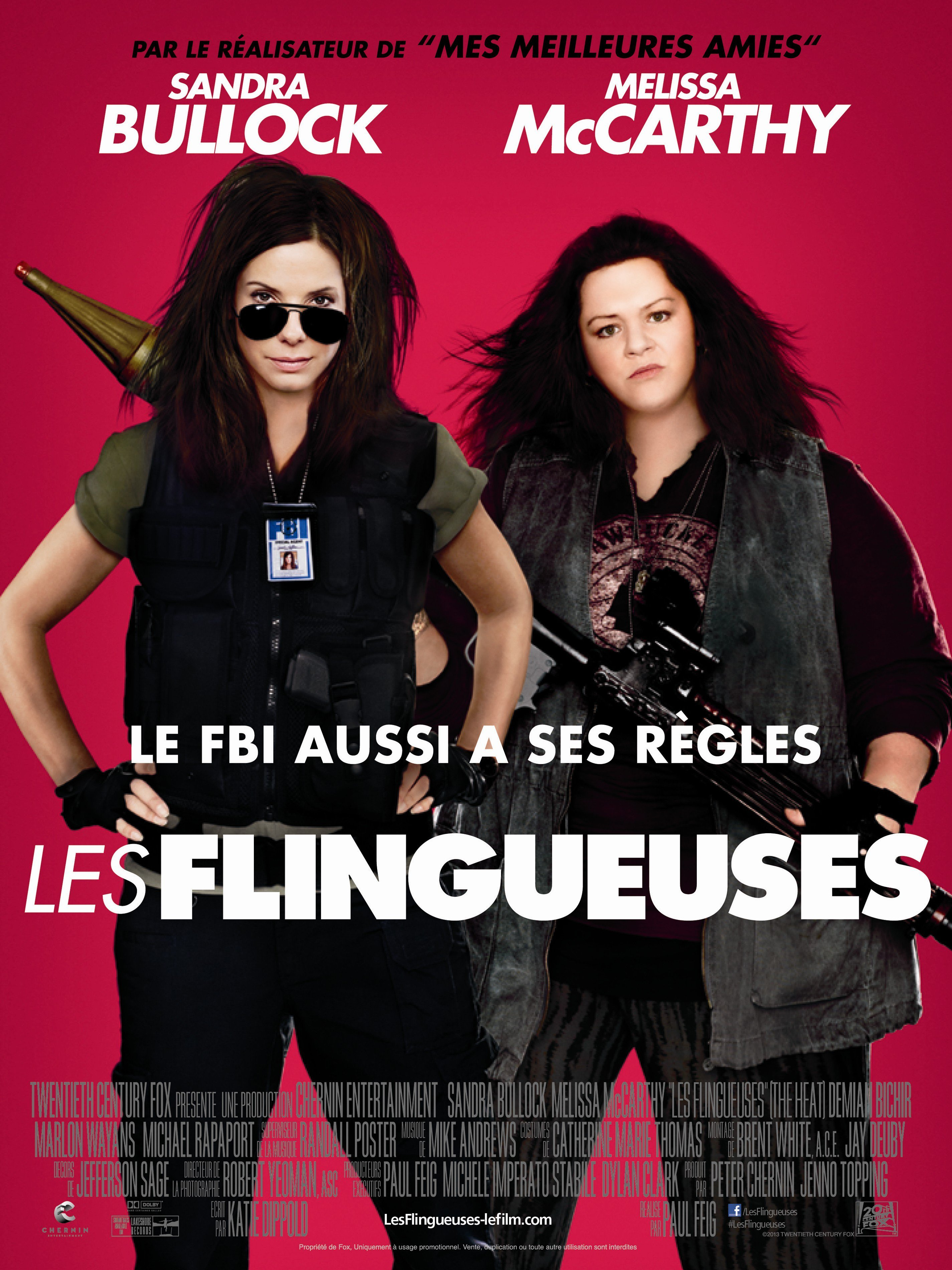 affiche du film Les Flingueuses