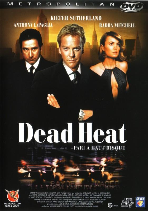 affiche du film Dead Heat: Pari à haut risque