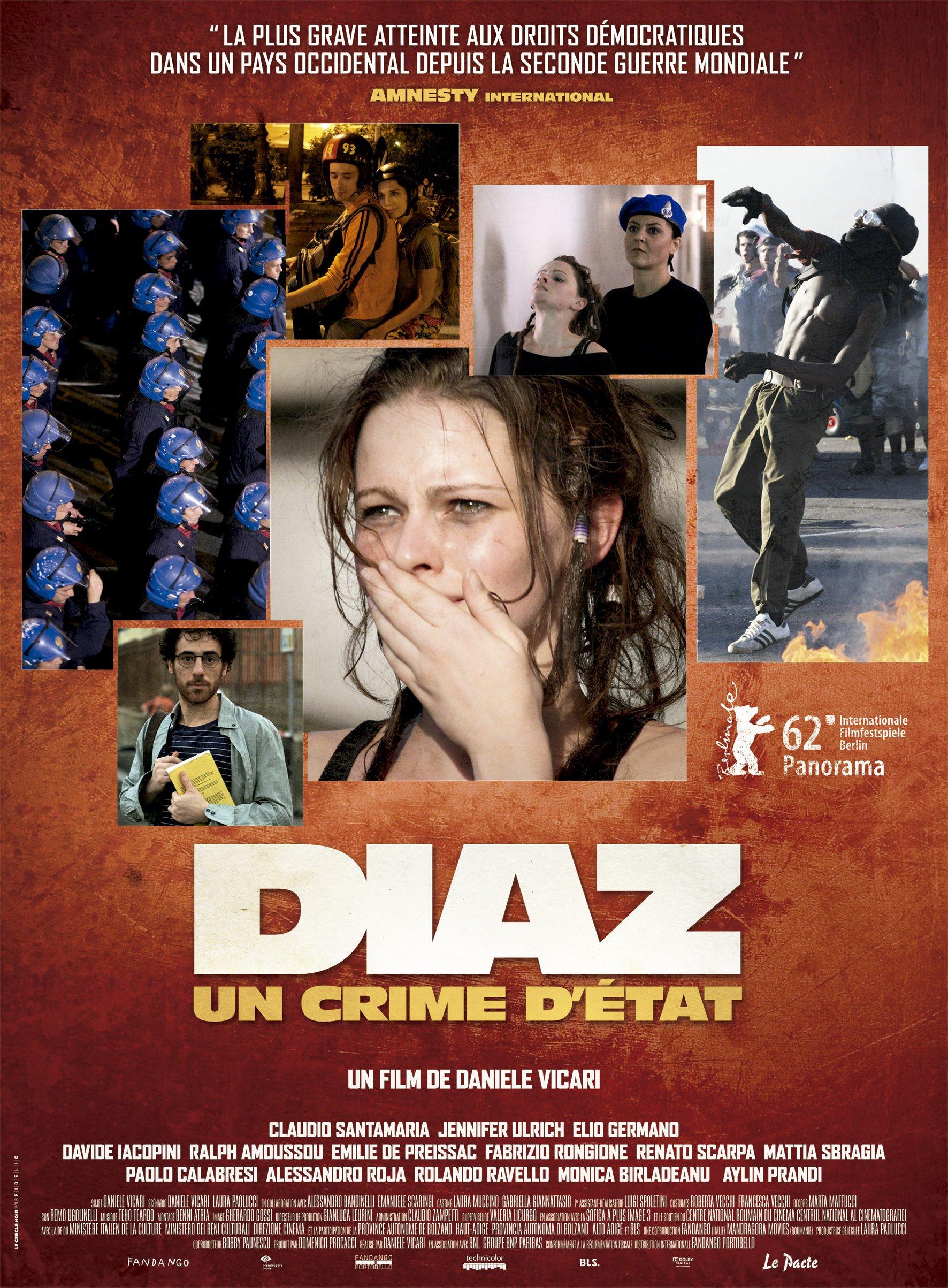 affiche du film Diaz: Un crime d'État