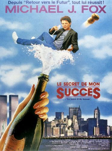 affiche du film Le secret de mon succès