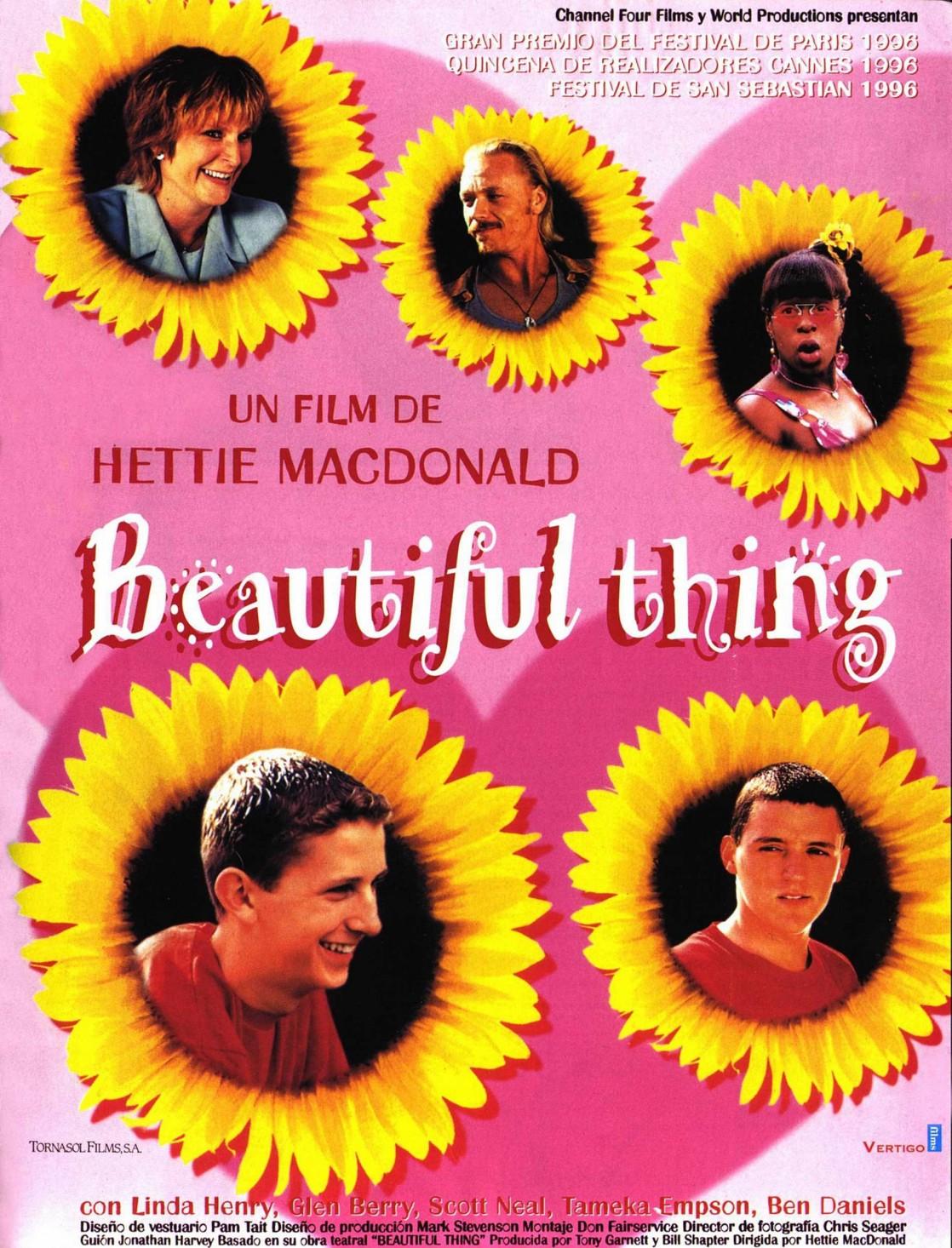 affiche du film Beautiful Thing