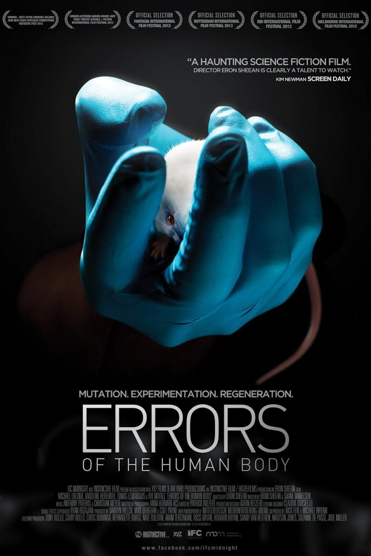 affiche du film Errors Of The Human Body