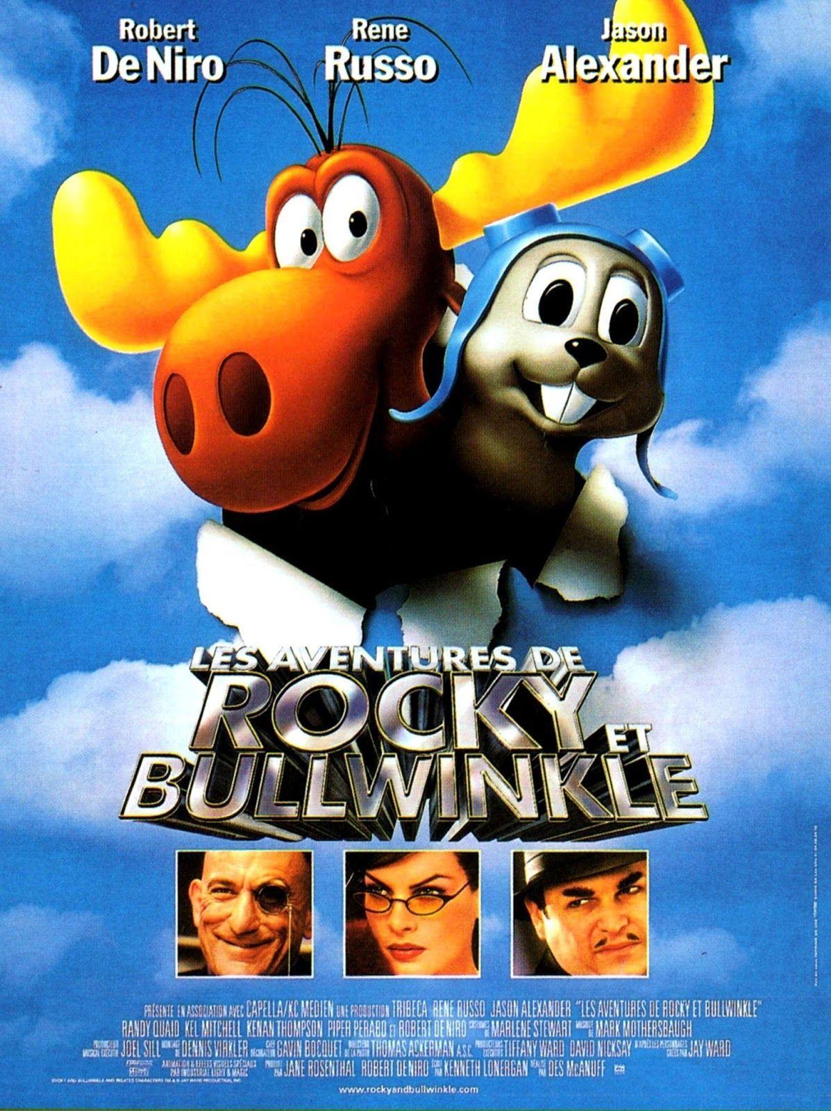 affiche du film Les Aventures de Rocky et Bullwinkle