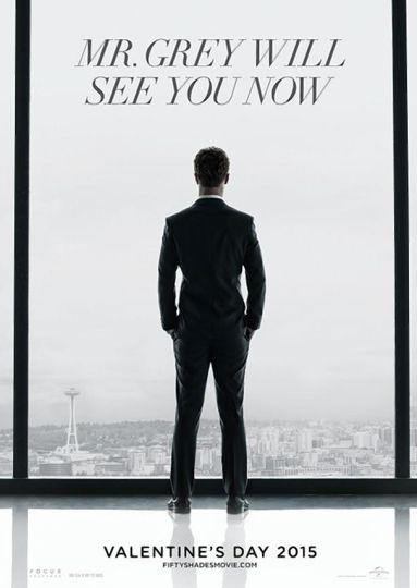 affiche du film Cinquante nuances de Grey