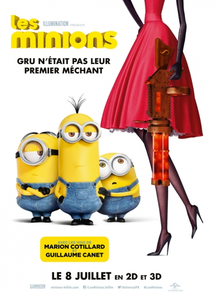 affiche du film Les Minions