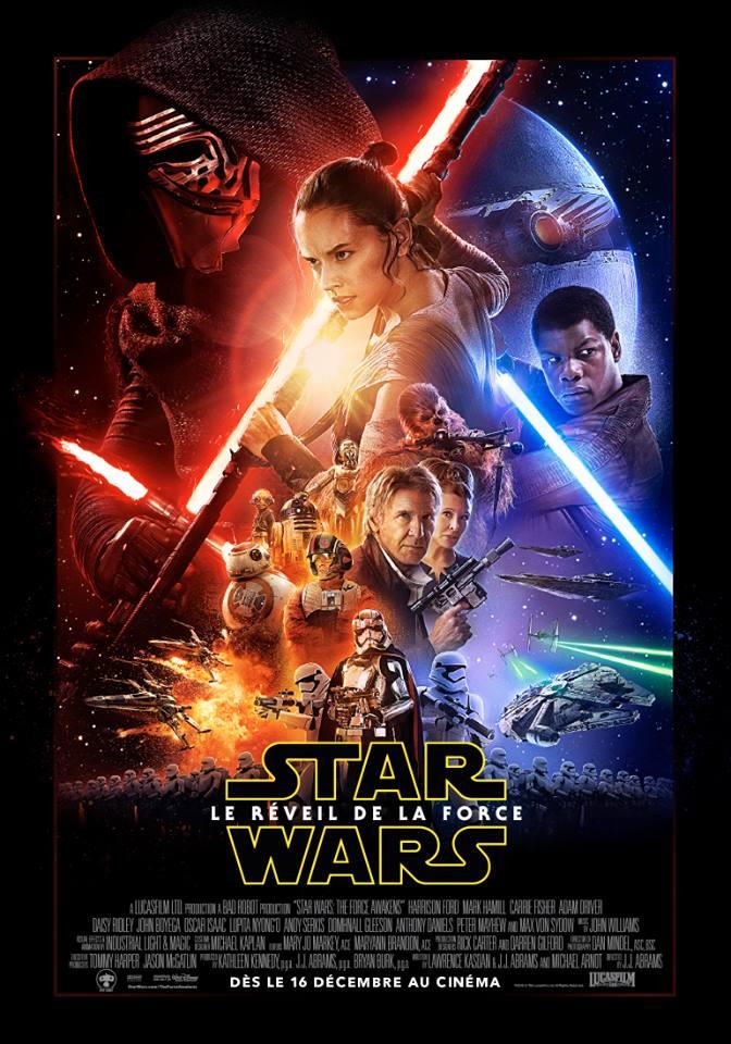 affiche du film Star Wars : Épisode VII - Le réveil de la Force