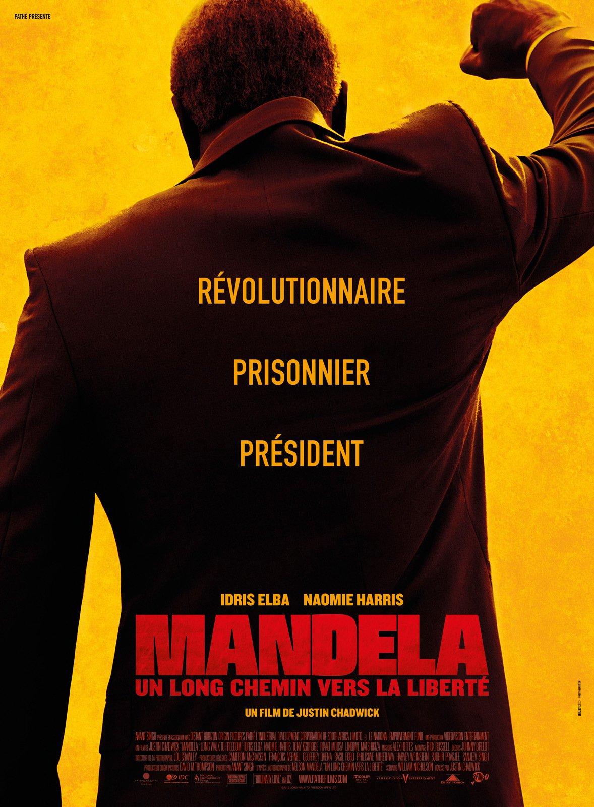 affiche du film Mandela : Un long chemin vers la liberté