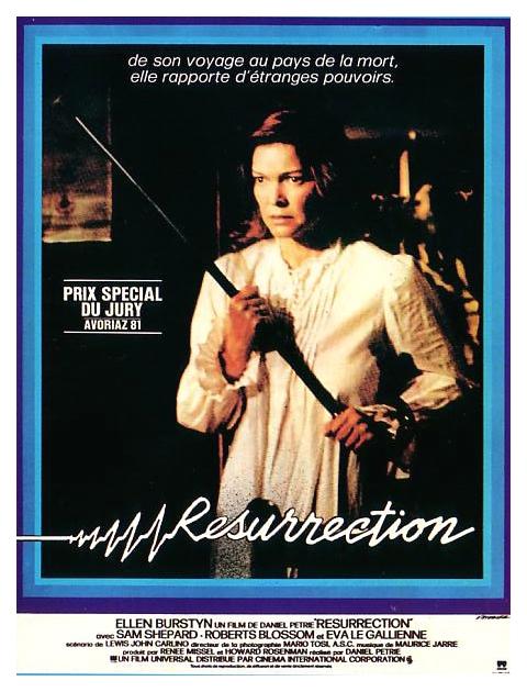 affiche du film Resurrection
