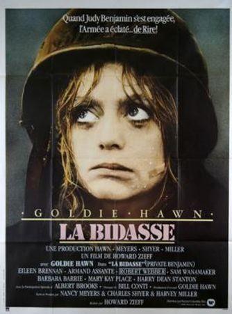 affiche du film La bidasse